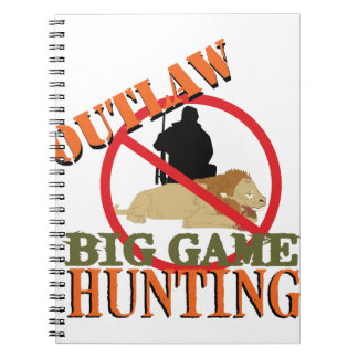 ビッグ・ゲームの狩り ノートブック