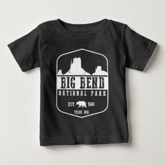 ビッグ・ベンド国立公園 ベビーTシャツ