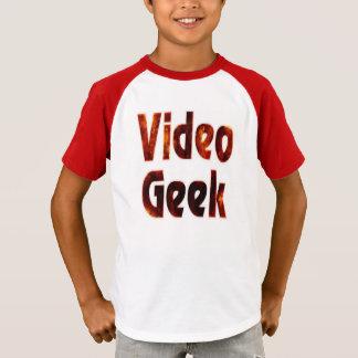 ビデオギークの火 Tシャツ