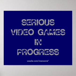 ビデオゲームポスターテンプレート ポスター