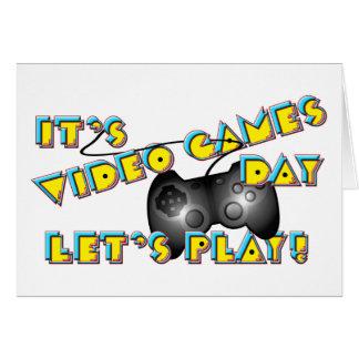ビデオゲーム日 カード