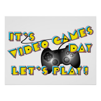 ビデオゲーム日 ポスター