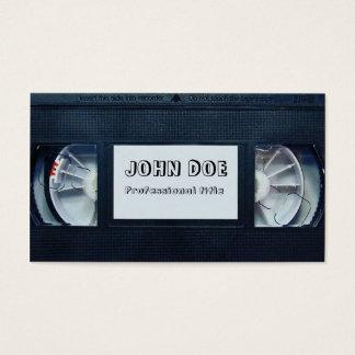 ビデオテープ 名刺