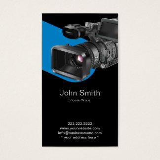 ビデオ録画の写真撮影のプロフェッショナル 名刺
