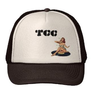ビニールのトラック運転手の帽子のTCCピン トラッカーハット