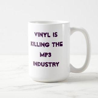 ビニールはMP3工業を殺しています コーヒーマグカップ