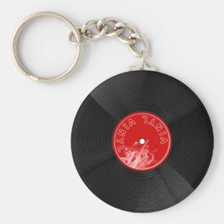 ビニールディスク記録keychain キーホルダー