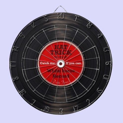 ビニールレコード ダーツボード