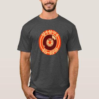 ビニール45のオレンジ Tシャツ
