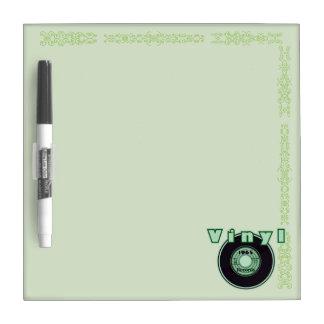 ビニール45の記録1965年、緑2 ホワイトボード
