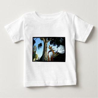ビバリー・ヒルズの花 ベビーTシャツ