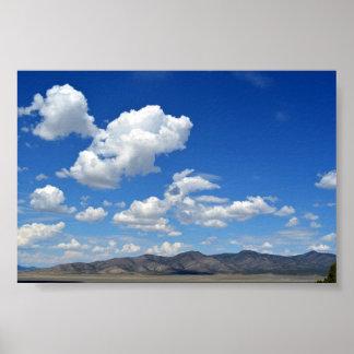 ビュートの谷のネバダポスター ポスター