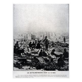 ビュートMontmartreの大砲 ポストカード