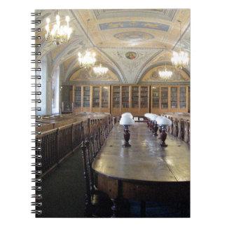 ビリニュスの大学図書館-リスアニア --- ノートブック