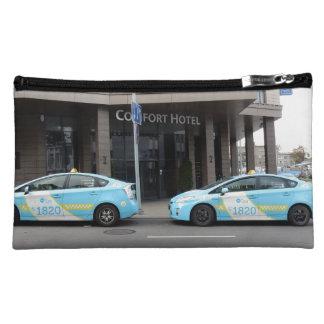 ビリニュスリスアニアのタクシー コスメティックバッグ