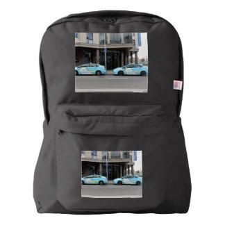 ビリニュスリスアニアのタクシー AMERICAN APPAREL™バックパック