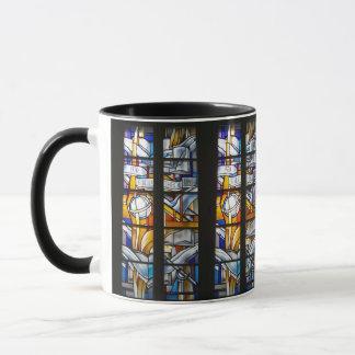 ビリニュスUniv. Libraryのステンドグラス-リスアニア- マグカップ