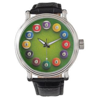 ビリヤードのスヌーカーのノベルティの時計腕時計 腕時計