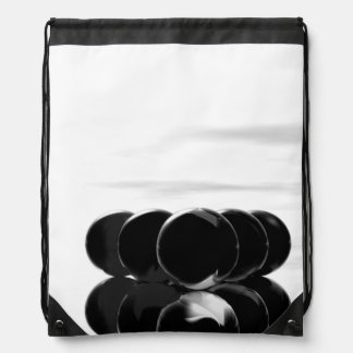 ビリヤードボールの8ボールの黒のファッションのバックパック ナップサック
