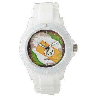 ビリヤードボール第13 腕時計