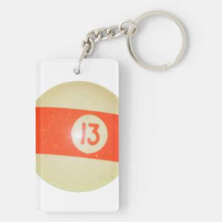 ビリヤードボール#13 キーホルダー