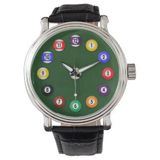 ビリヤード台- 腕時計