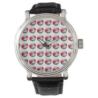 ビリヤード11の球パターン 腕時計