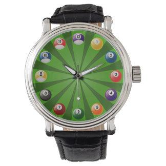 ビリヤード 腕時計