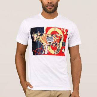 ビルの牛 Tシャツ