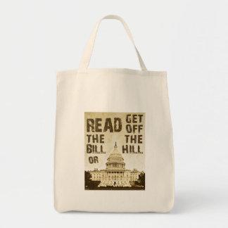 ビルを読んで下さい トートバッグ