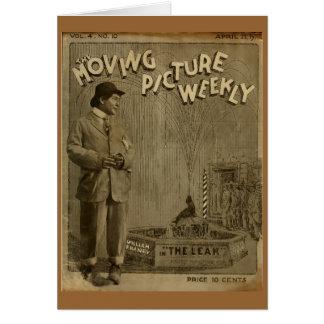 ビルウィリアムFraneyの喜劇俳優の静かな1917フィルム カード