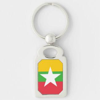 ビルマの旗 キーホルダー