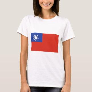 ビルマの旗(1948-1974年) Tシャツ