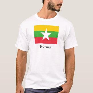 ビルマの旗 Tシャツ