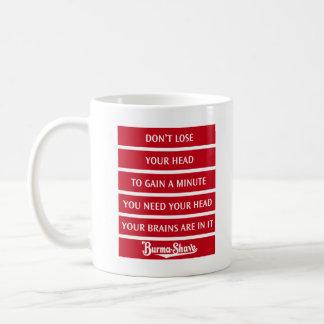 ビルマ髭そりのジングルのコーヒー・マグ4 コーヒーマグカップ