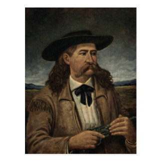 ビル野生のHickokの絵画 ポストカード
