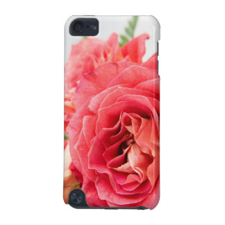 ビロードのようなピンクのバラ iPod TOUCH 5G ケース