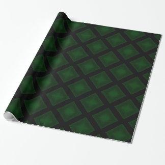 ビロードのダイヤモンド(緑) ラッピングペーパー