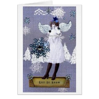 ビロードの雪 カード