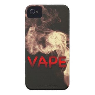 ビロード赤いVapeはグランジ曇らせます Case-Mate iPhone 4 ケース
