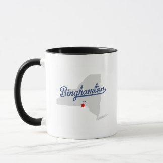 ビンガムトンニューヨークNYのワイシャツ マグカップ