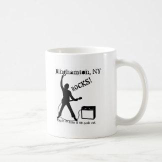 ビンガムトン、NY コーヒーマグカップ
