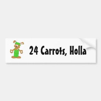 ビングビングが付いている漫画のヒップホップのウサギ バンパーステッカー