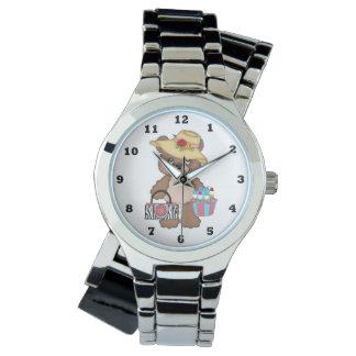 ビンゴくまの賭博の腕時計 腕時計