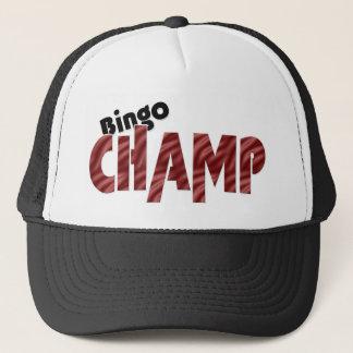 ビンゴのチャンピオンのチャンピオンのベガスのスタイルの帽子 キャップ