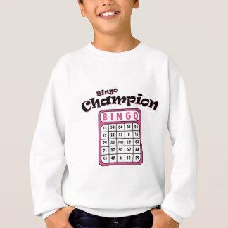 ビンゴのチャンピオン スウェットシャツ
