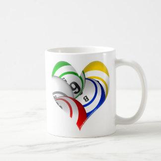ビンゴのハートのロゴのマグ! コーヒーマグカップ