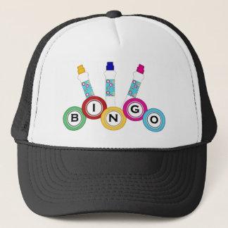 ビンゴの賭博の帽子 キャップ