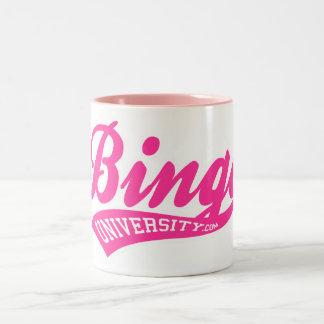 ビンゴ大学は原稿のマグを遊ばします ツートーンマグカップ