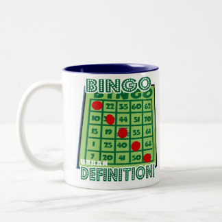 ビンゴ都市定義マグ ツートーンマグカップ